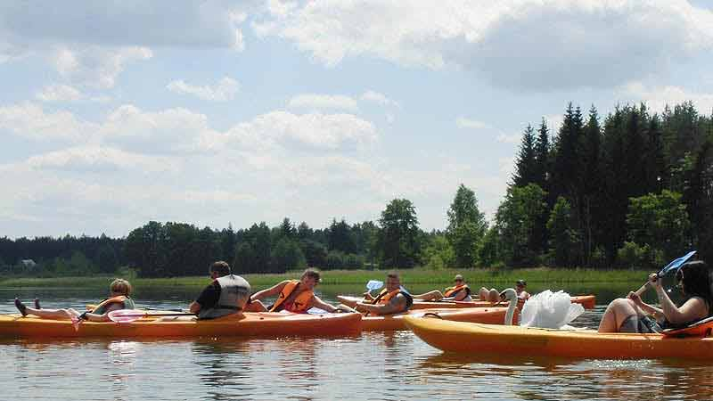 Spływ Krutynią - trasa Spychowo - Zgon