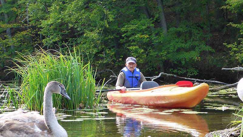 Krutynia –Perła Mazur - świat spływów kajakowych