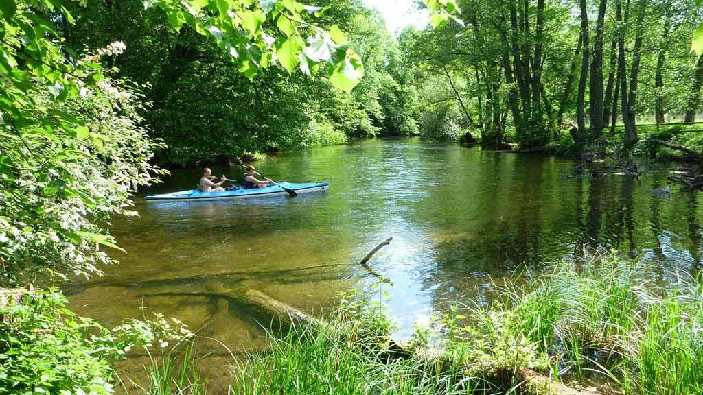 Szlak kajakowy rzeki Krutynia - odcinek Krutyn - Ukta