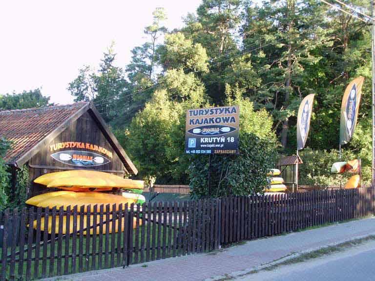Turystyka Aktywna Wodniak - baza