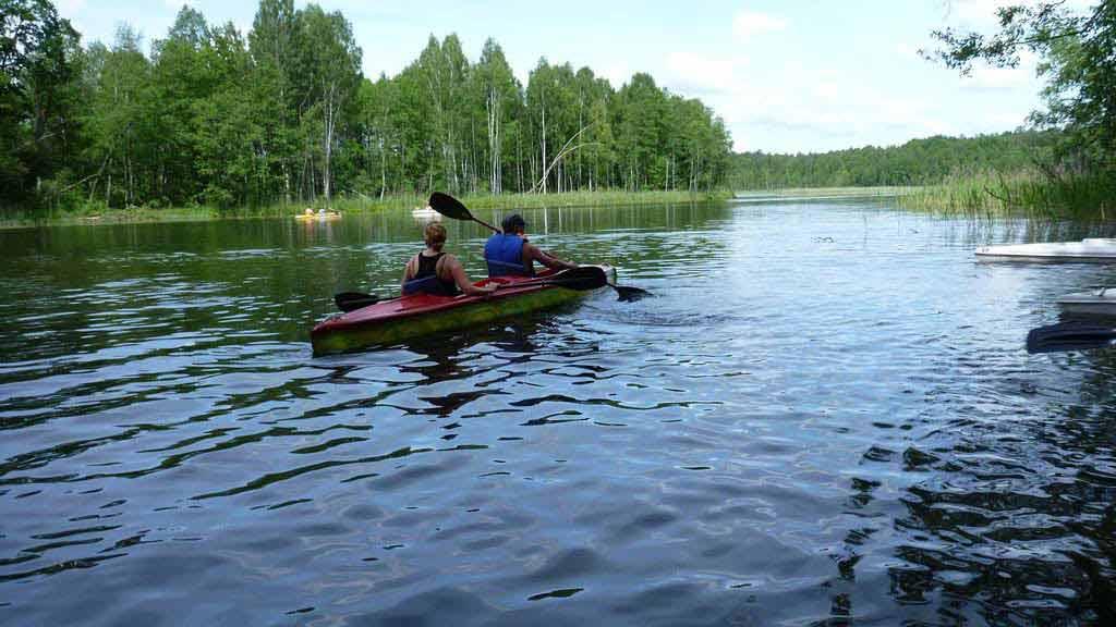 Spływ kajakowy szlakiem Krutyni -