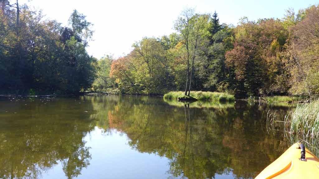 Spływ kajakowy rzeką Krutynią - rezerwat Krutynia - odcinek Jezioro Krutyńskie - Krutyń