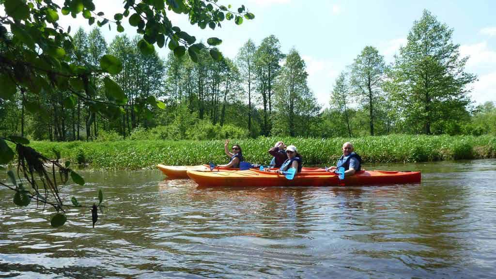Spływ kajakowy rzeką Omulew