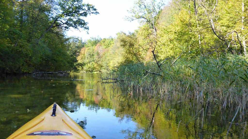 Spływ kajakowy rzeką Krutynią - rezerwat Krutynia