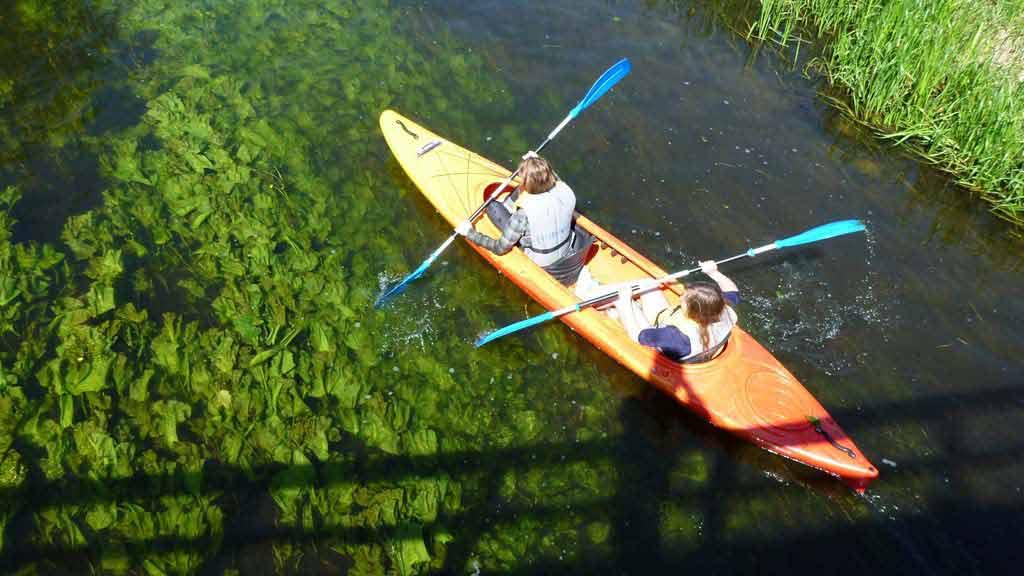 Spływ kajakowy rzeką Krutynią - trasa Krutyń - Iznota