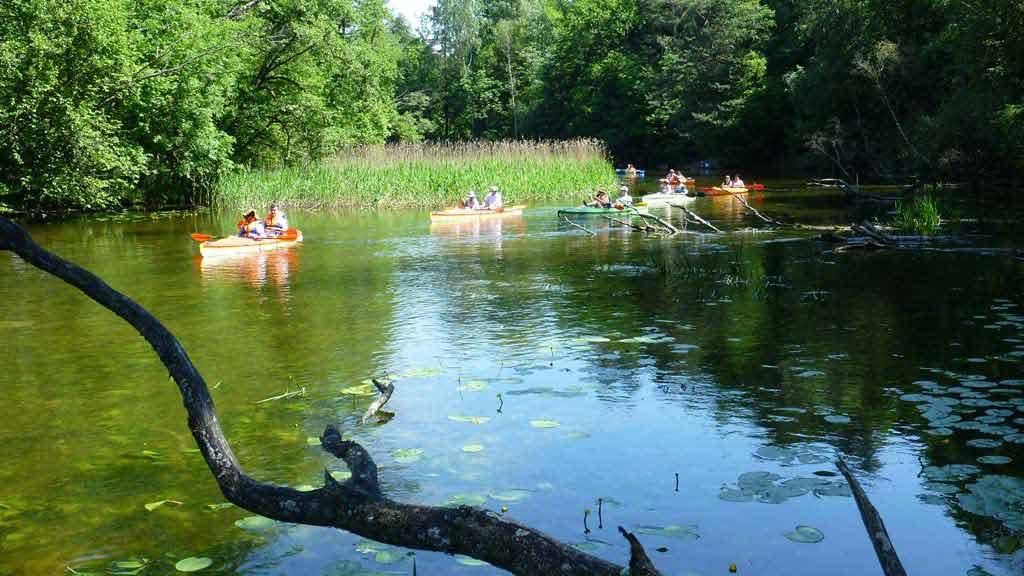 Mazury - spływ kajakowy na jednym z mazurskich szlaków