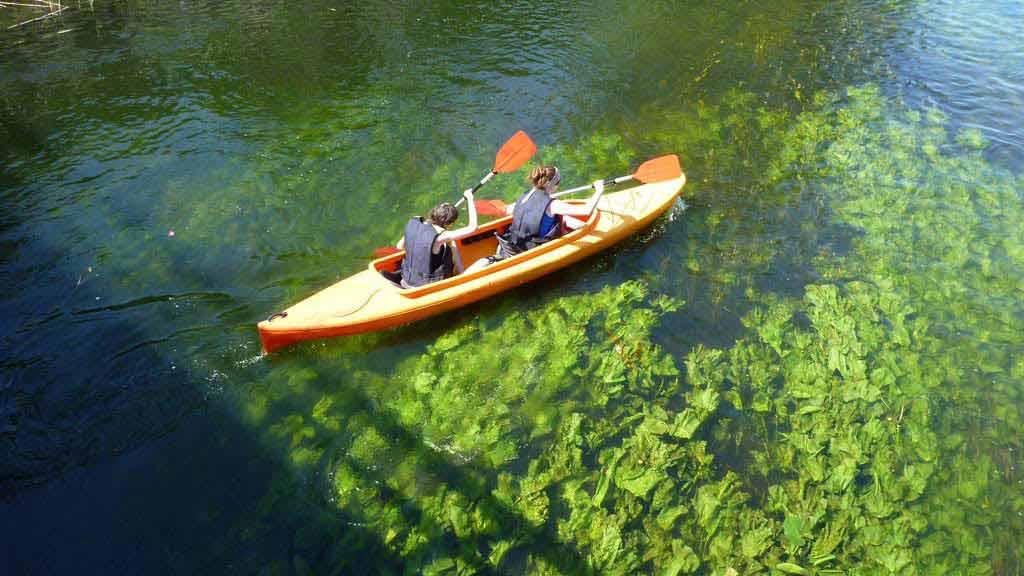 Spływ jednodniowy rzeką Krutynią - odcinek Krutyń - Iznota