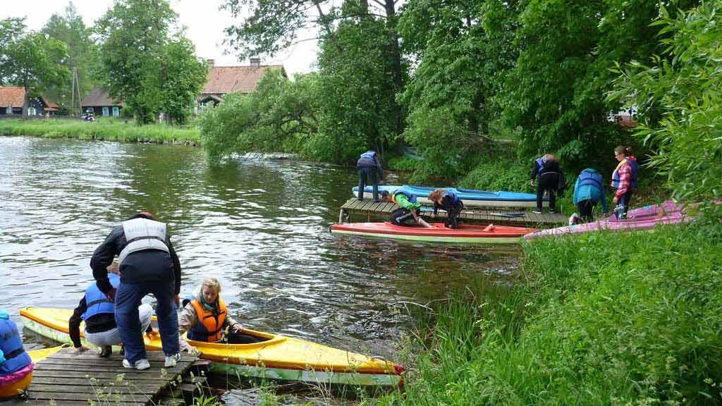 Spływ jednodniowy Krutynią - odcinek Zgon - Krutyń - start z miejscowości Zgon