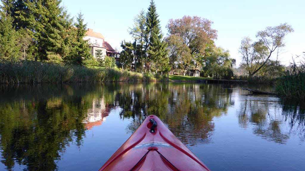 Spływ jednodniowy na trasie Krutyń - Nowy Most - rezerwat Krutynia Dolna