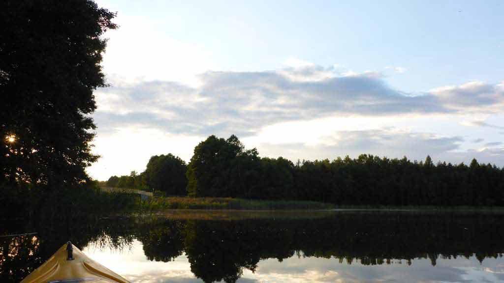 Spływ jednodniowy Krutynią na trasie Spychowo - Krutyń - jezioro Uplik