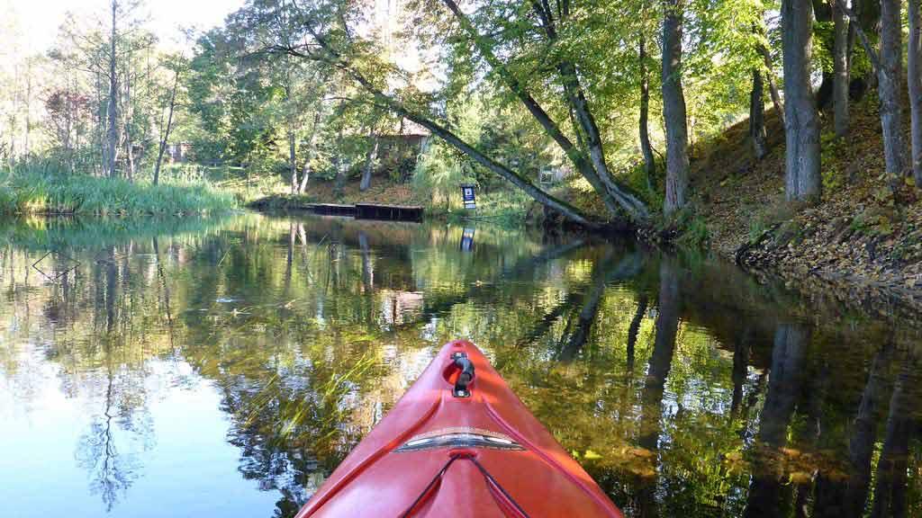 Spływ jednodniowy Krutynią na trasie Ukta - Iznota - rezerwat Krutynia Dolna