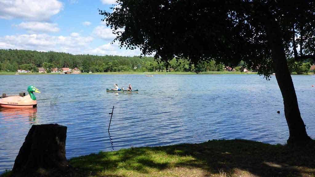 Spływ jednodniowy Krutynią na trasie Zgon - Krutyń - Jezioro Mokre