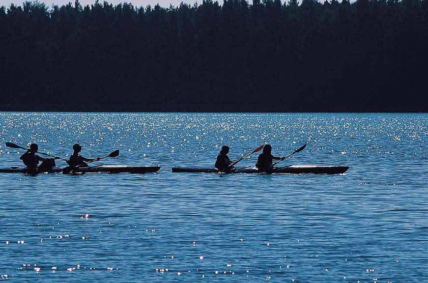 Splywy kajakowe szlakiem Krutynia - Jezioro Mokre