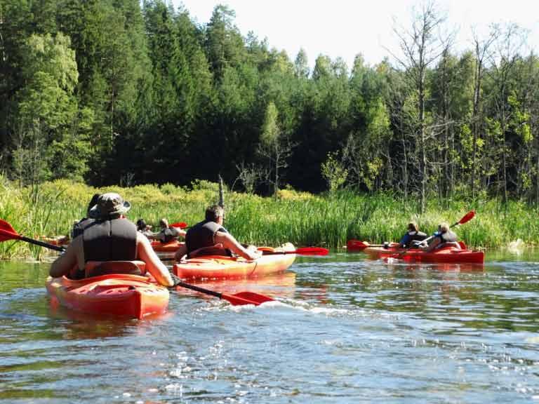 Spływ jednodniowy na szlaku rzeki Krutyni
