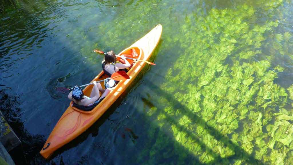 Splyw kajakowy na szlaku rzeki Krutyni