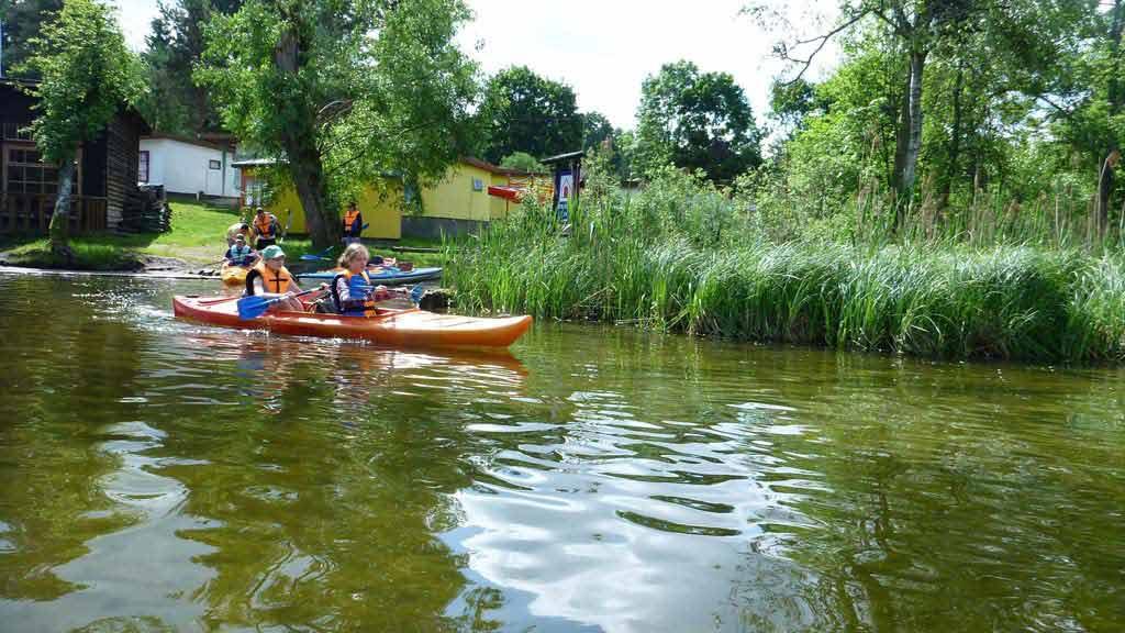 Turystyka Kajakowa Wodniak - spływ szkolny rzeką Krutynią