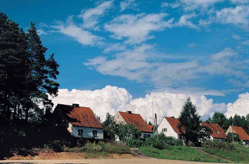 Krutyń - osiedle domków jednorodzinnych