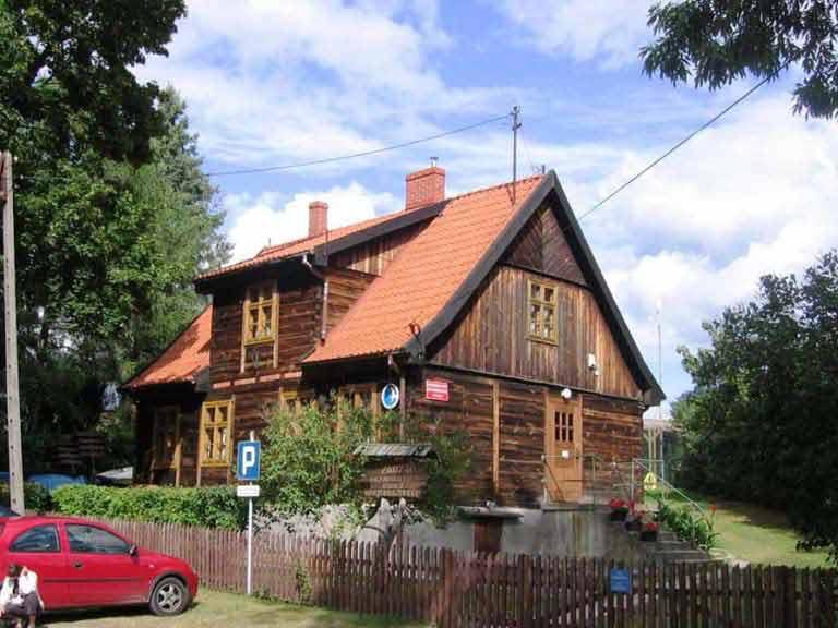 Siedziba Mazurskiego Parku Krajobrazowego w Krutyni