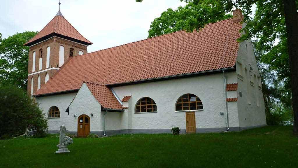 Kościół Ewangelicki w miejscowości Sorkwity