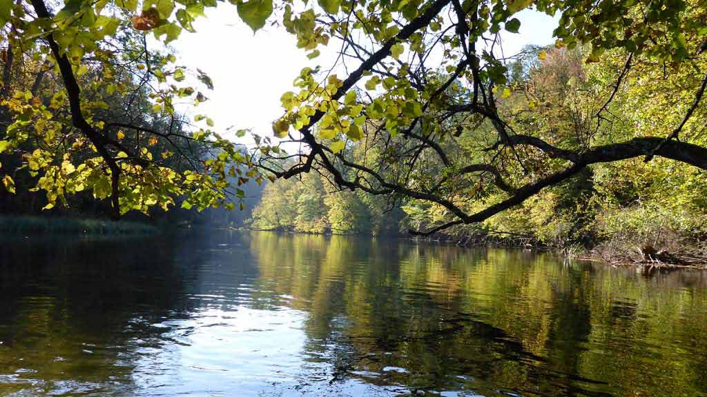 Szlak kajakowy rzeki Krutynia