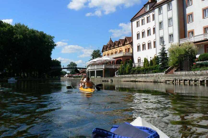 Spływ rzeką Pisą - Pisz
