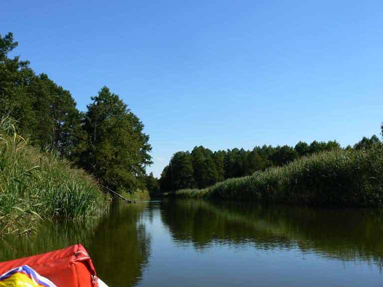 Szlak kajakowy rzeki Pisy