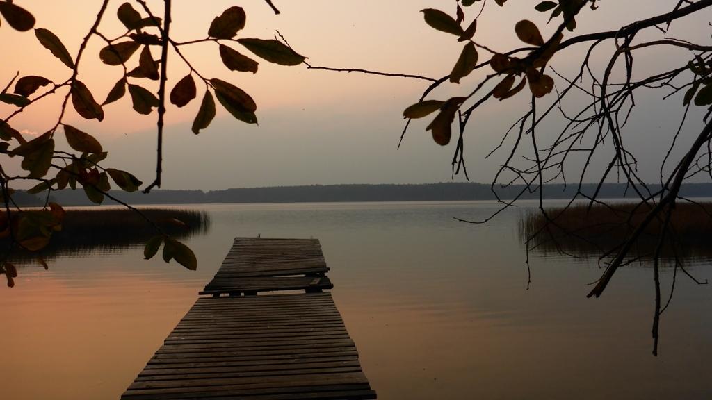 Spływ jednodniowy trasą z Cierzpięt do Krutyni - kąpielisko nad Jeziorem Mokrym