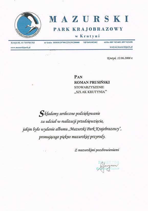 Certyfikaty - Wodniak