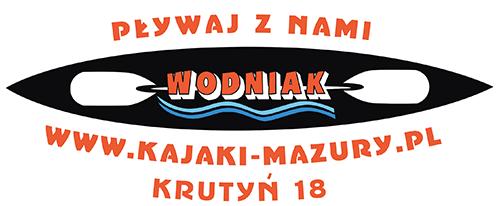 Spływ jednodniowy Krutynią, trasa Ukta- Iznota, WODNIAK, kajaki