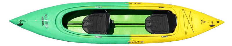 Kajak dwuosobowy - Aquarius Rio